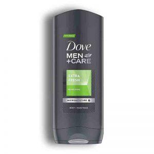 شامپو بدن و صورت مردانه داو Dove مدل Extra Fresh حجم 250میل